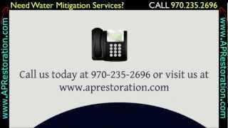 Water Mitigation Fort Collins   970.235.2696
