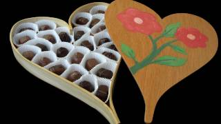 Make A Wood, Heart-shaped Candy Box For Valentine's Day