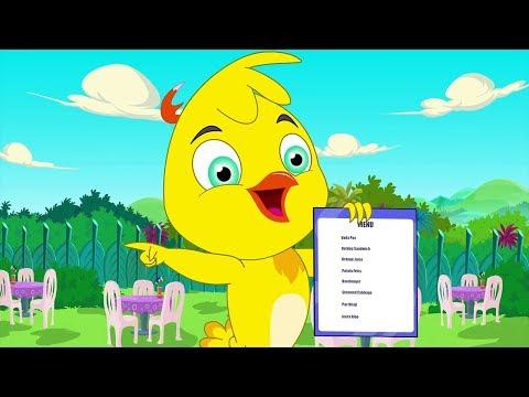 Eena Meena Deeka | The Restaurant | Funny Cartoon Compilation | Cartoons for Children