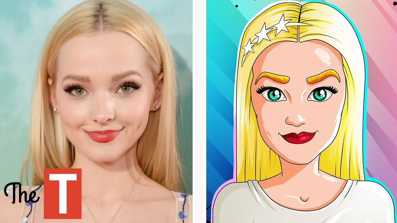 10 Disney Channel Stars Reimagined As Cartoons (Selena Gomez, Dove Cameron, Bella Thorne)