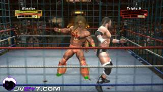 Legends of Wrestlemania (PS3) : Ultimate Warrior vs HHH