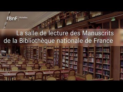 La salle de lecture du département des Manuscrits de la Bibliothèque nationale de France