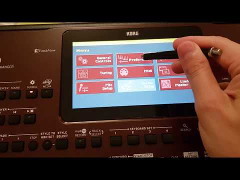 Korg Pa700 - Load Songbook Tutorial