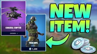 NEW TECH OPS SKIN + COAXIAL COPTER GAMEPLAY IN FORTNITE / #ChronicRC