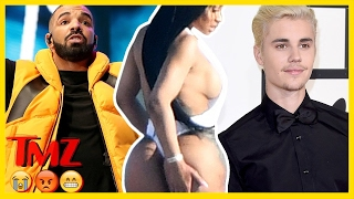 YOUR Reaction to Drake's Baby, Bieber's New Girl, and Blac Chyna's Booty   TMZ BUZZ