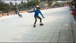 INDIAN SKATER RAJIV KUMAR ON THE ROLE