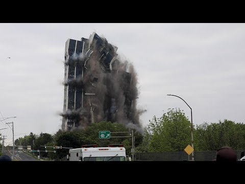 Martin Tower In Bethlehem Is Razed To The Ground