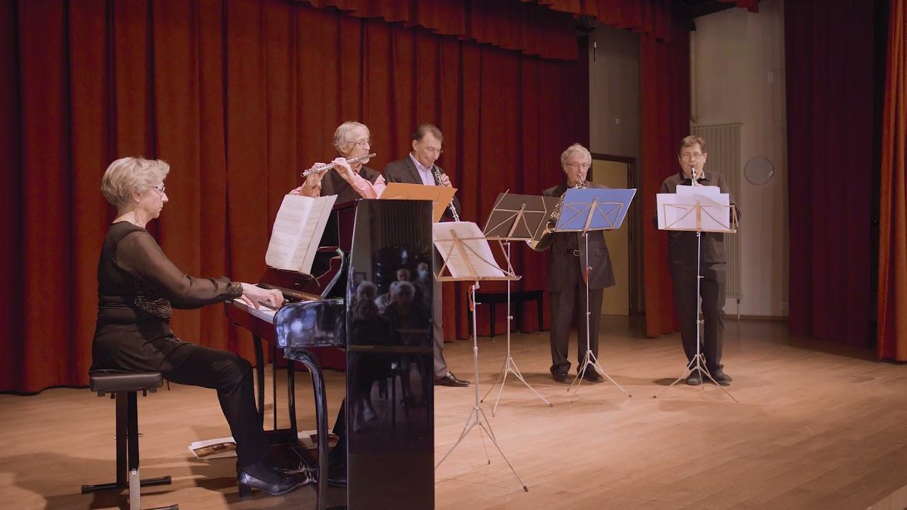 Un beau moment de musique avec le quintette Oblivion !