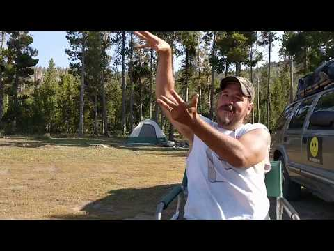 Free Camping Review Frye Lake Campground Shoshone National Forest Lander Wyoming Rocky Mountains Cam