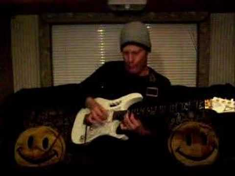 """chance..playing satriani's """"mountain song"""""""
