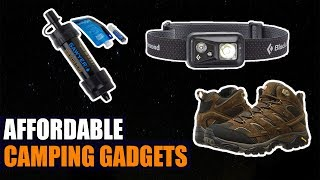 Top 10 Affordable Must Have Camping Gadgets on Amazon 2019