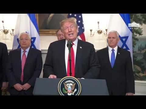 President Trump and The Prime Minister of Israel Make Remarks