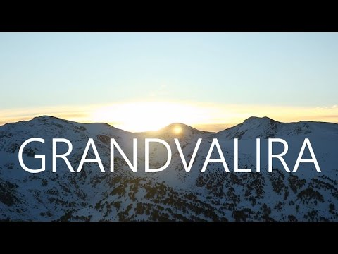 The best of the awesome ski resort GRANDVALIRA in ANDORRA