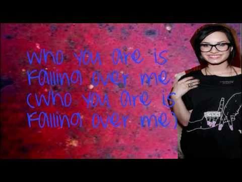 Demi Lovato - Falling Over Me (Lyrics Video)