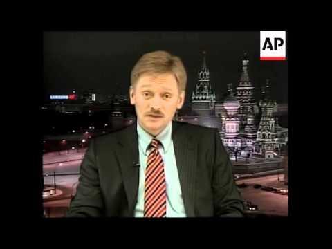WRAP Reax as Putin named Time person of the year, Kasyanov, ADDS Putin spokesman