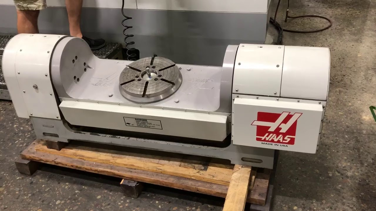 haas model tr310 cnc 5 axis rotary trunnion machine for sale rh youtube com