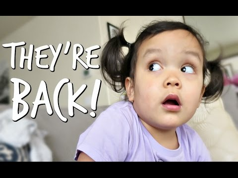 Thumbnail: MOMMY AND DADDY ARE BACK! - April 10, 2017 - ItsJudysLife Vlogs
