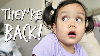 MOMMY AND DADDY ARE BACK! - April 10, 2017 -  ItsJudysLife Vlogs