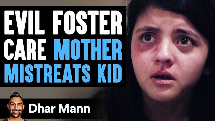 evil foster care mother mistreats kid lives to regret it  dhar mann