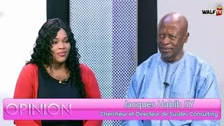 Opinion du 12 jan. 2019 avec Jacques Habib SY (Chercheur et Directeur de Susdev Consulting)