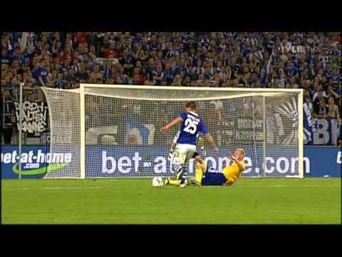Schalke - HJK Helsinki 6-1 // UEFA Europa League - All Goals & Match Highlights (25/8/11)