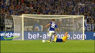 Schalke - HJK Helsinki 6-1 // UEFA Europa League - All Goals & Match Highlights (25/8/11)