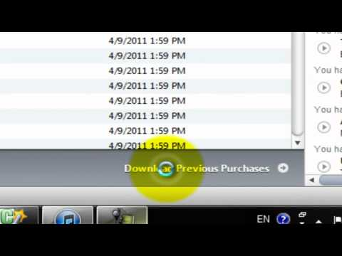 How to Redownload iTunes Purchases
