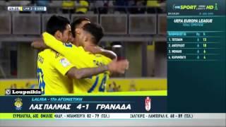 Video Gol Pertandingan Las Palmas vs Granada