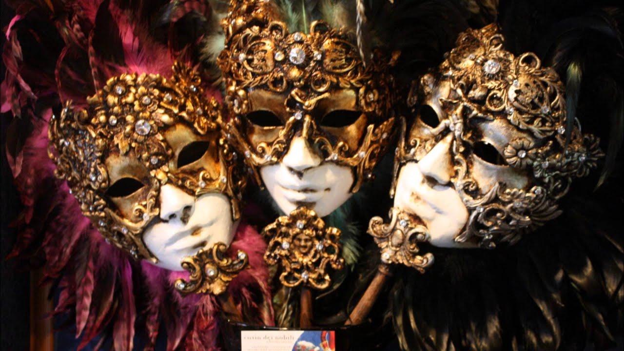 Mascaras del carnaval de venecia youtube - Mascaras venecianas decoracion ...