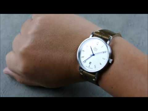 On the Wrist, from off the Cuff:  Laco – Classic Berlin 40, a Bauhaus Beauty