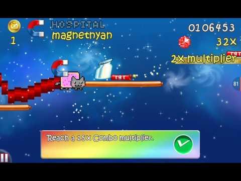 Обзор игры Nyan Kat