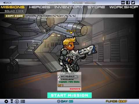 Игра за снайпера. Миссия 1. Герои Ударного Отряда 3