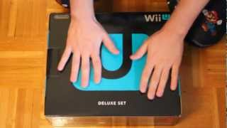 Nintendo Wii U Deluxe 32GB Model Unboxing