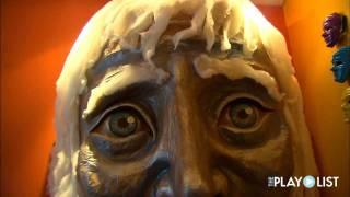 Mary Plaster:  Mixed Media Masks