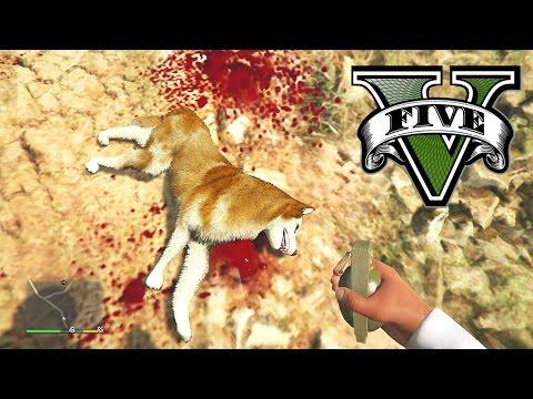 GTA 5 All Animals Must Die (New GTA 5 Wildlife)