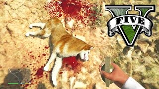 GTA 5 All Animals Must Die (New GTA 5 Wildlife)