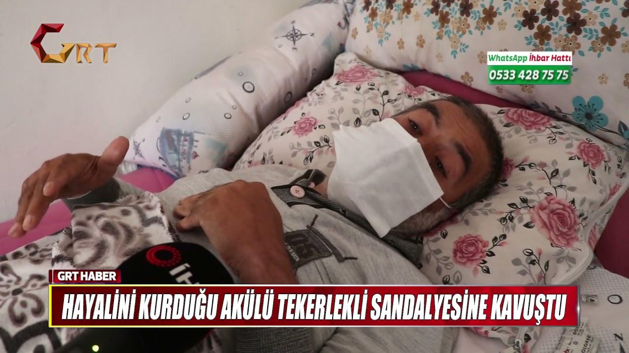 Download HAYALİNİ KURDUĞU AKÜLÜ TEKERLEKLİ SANDALYESİNE KAVUŞTU
