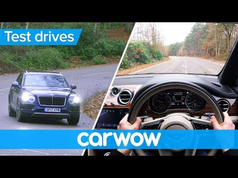 Bentley Bentayga 2018 POV review | Test Drives