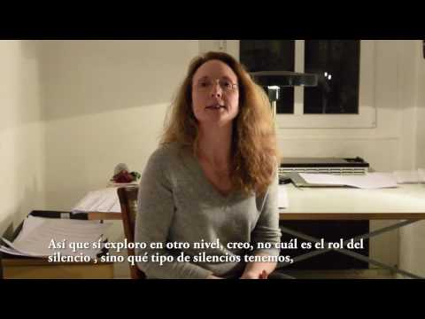 "Entrevista/Interview Rebecca Saunders sobre/about ""vermilion"""