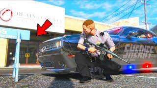 I respond to a bank heist as a cop!! (GTA 5 Mods - LSPDFR Gameplay)