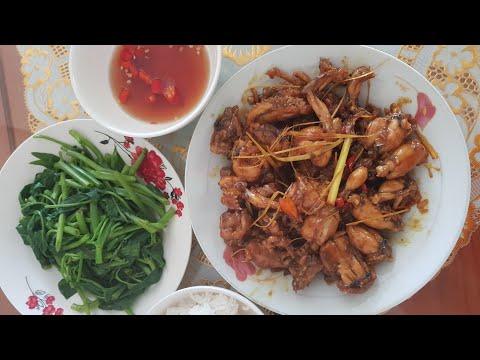 17. Cách làm ếch xào sả ớt đậm đà hương quê   yêu thích ẩm thực