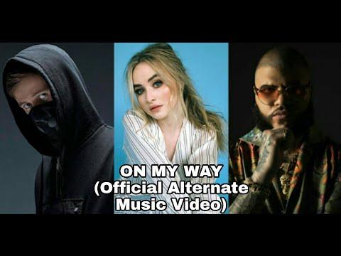 on-my-way-alan-walker,-sabrina-carpenter-&-farruko-(official-alternate-music-video)