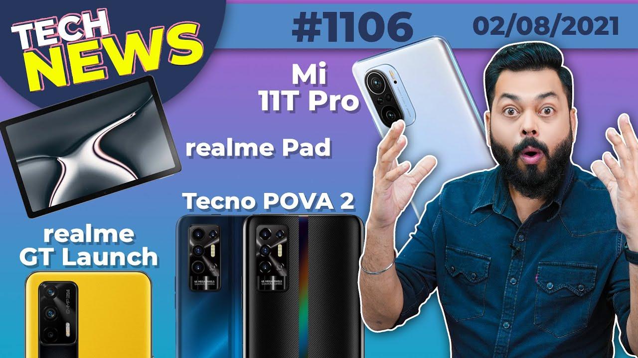 realme GT & Book Launch, Mi 11 Lite 5G Coming, MagDart Charging, OP Nord 2🔥😐, Tecno POVA 2-#TTN1106