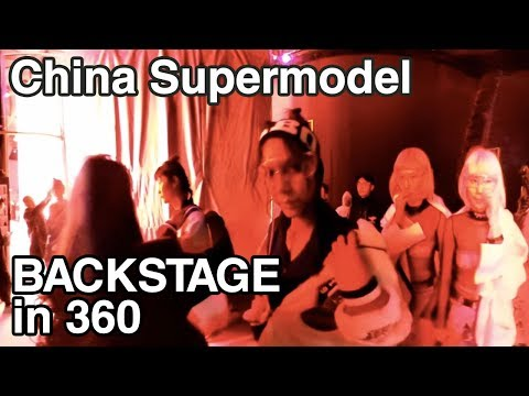 Backstage China Fashion Week - Vlogging behind the Scenes - I hooked up with a Chinese Supermodel