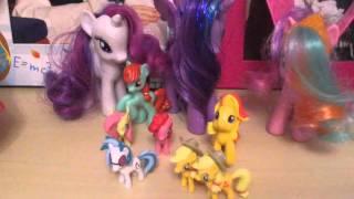 Скачать My Little Pony из Kinder Surprise Обзор моей коллекции