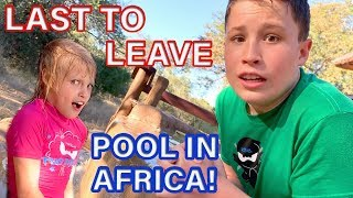 Last to leave pool in Africa wins $10,000