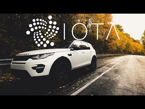 Earn Cryptocurrency IOTA While You Drive a Land Rover?