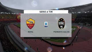 As Roma Vs Juventus(13th Jan 2020)   (matchday 19 Prediction) Serie A   Full Match Gameplay