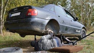 Serwis Polowy u NAUSZKA - Wymieniamy tuleje tylnej belki (Audi A4 B5)
