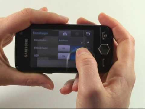 Samsung S8000 Jet Test Kamera